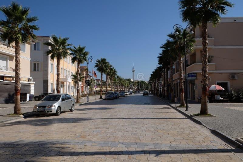 Kavaje Gammal Stad Och En Kommun I Tirana County, Albanien