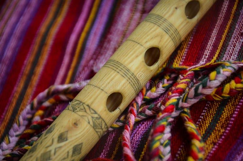 Kaval - instrumentos tradicionales fotos de archivo