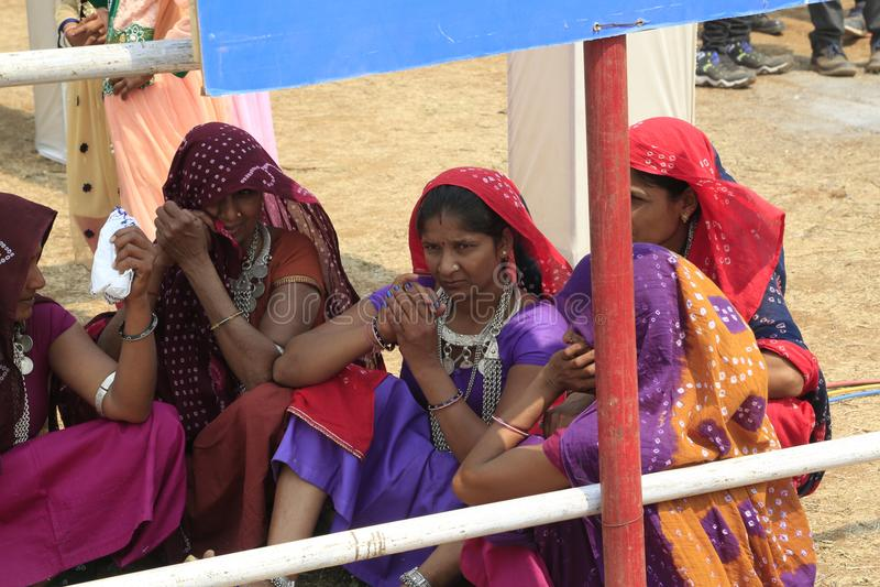 KAVANT GER ANGEMESSEN nahe Chhota Udepur um 120 kms von BARODA lizenzfreies stockbild