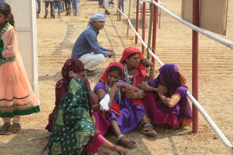 KAVANT GER ANGEMESSEN nahe Chhota Udepur um 120 kms von BARODA lizenzfreie stockfotografie
