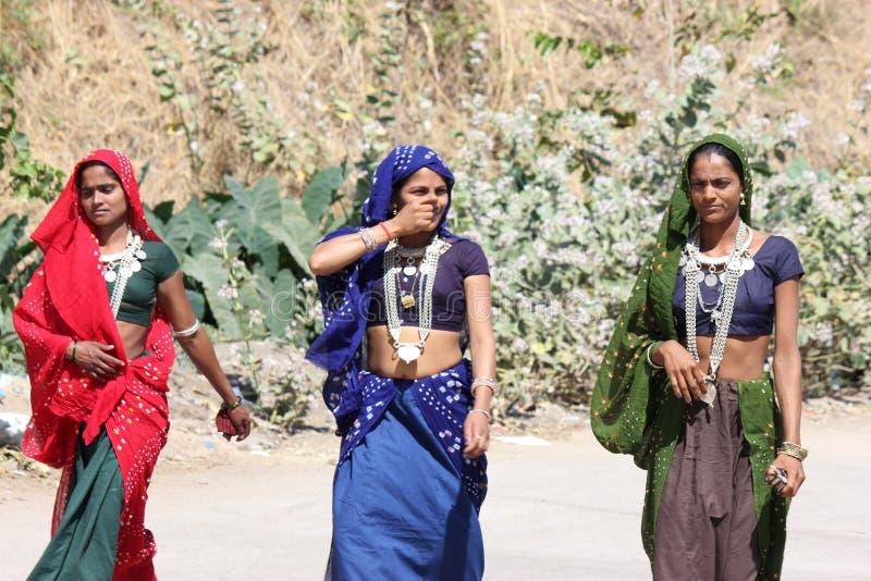 Kavant, Nr Chhota-Udepur, Dist: Vadodara, Гуджарат, Индия стоковое изображение