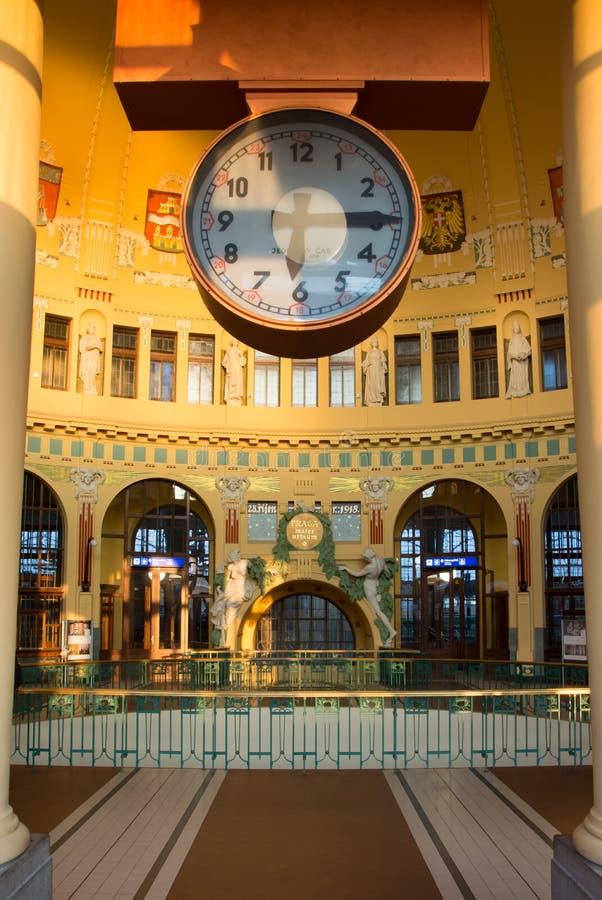Kavarna di Fantova - orologio fotografie stock libere da diritti