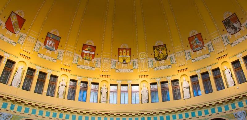 Kavarna di Fantova - urbium di mater di Praga immagine stock libera da diritti