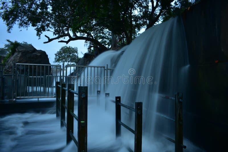 Kaveririvier in Dharmapuri stock foto