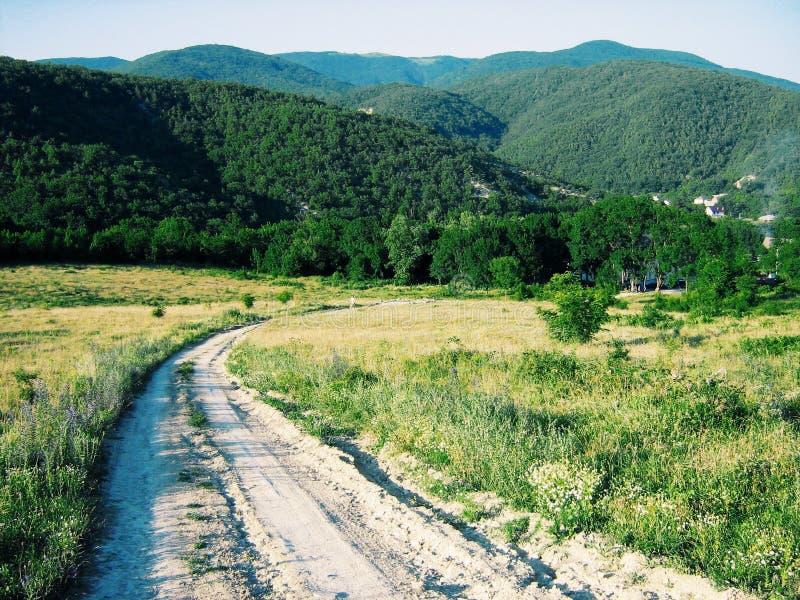 Kavkazbergen royalty-vrije stock foto