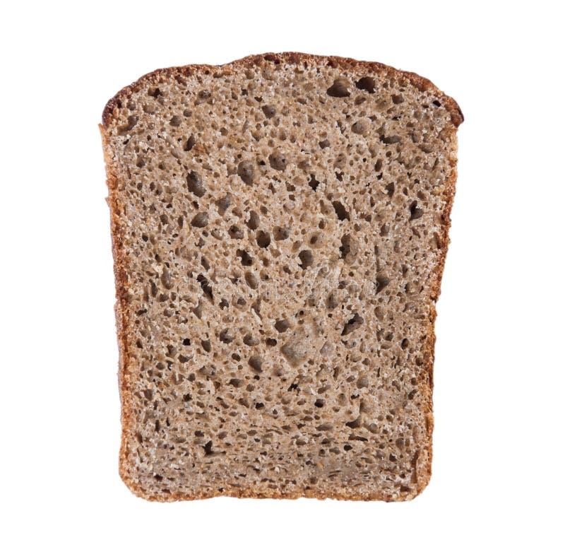 Kawał chłopa czarny chleb zdjęcia stock