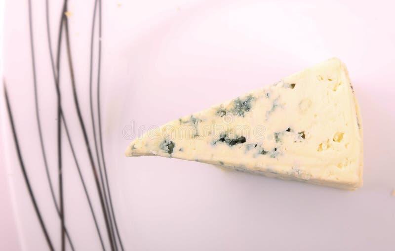 Kawałek błękitny ser zdjęcia stock