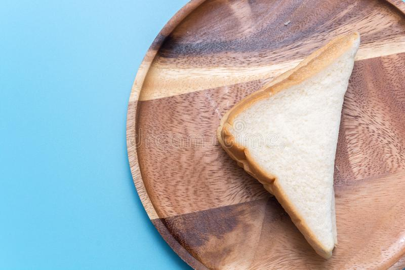 Kawałek baleron kanapka obraz stock