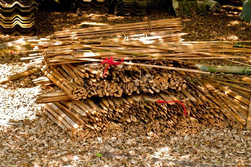 Kawałek bambus zdjęcie royalty free