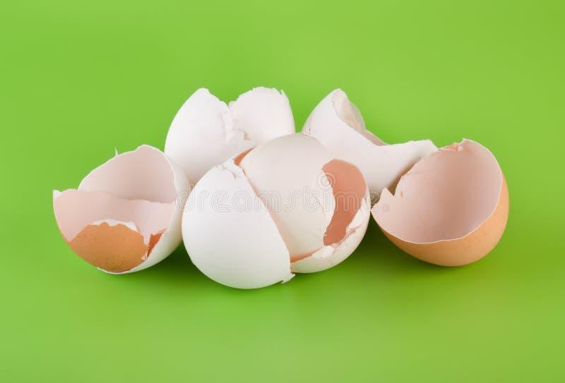 kawałek jajeczna grupowa skorupa zdjęcia stock