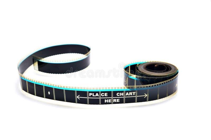 Kawałek 35 mm ruchu film fotografia stock