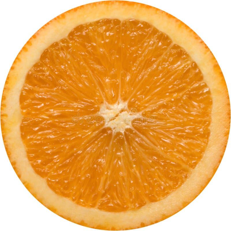 kawałek pomarańczy obrazy stock