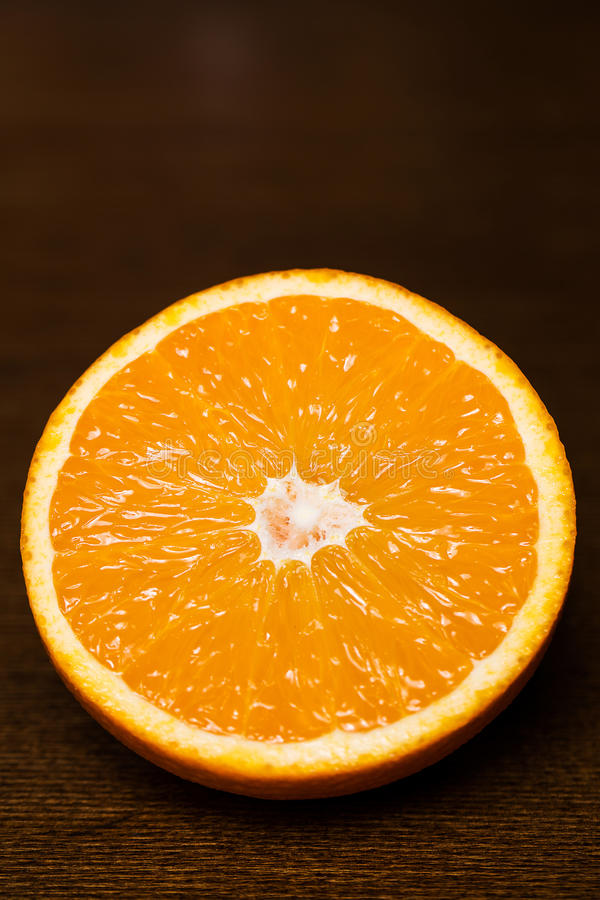 kawałek pomarańczy zdjęcia stock