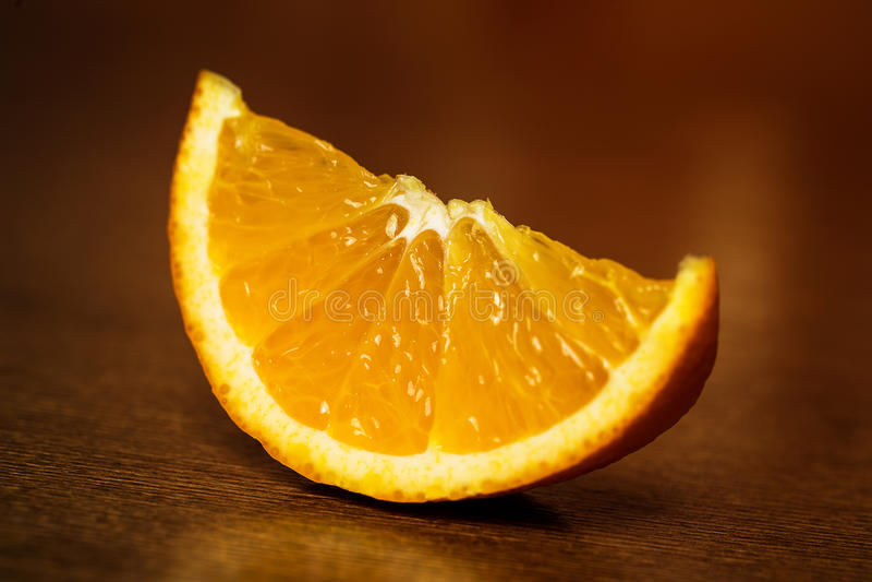 kawałek pomarańczy fotografia royalty free