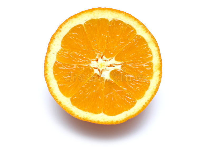 kawałek pomarańczy obrazy royalty free