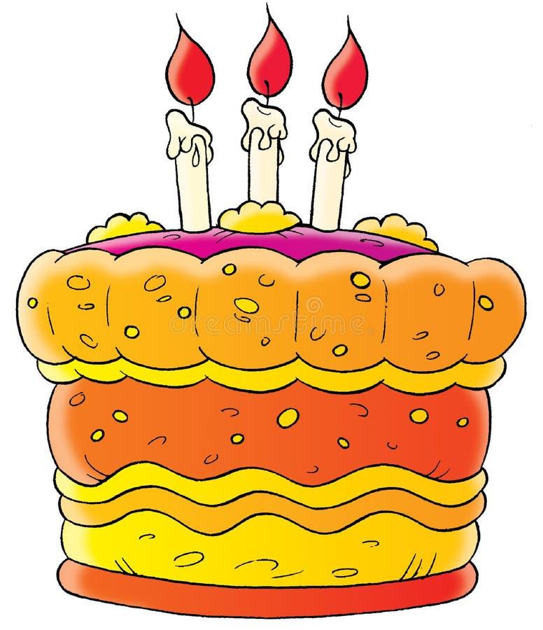 kawałków ciasta ilustracja wektor