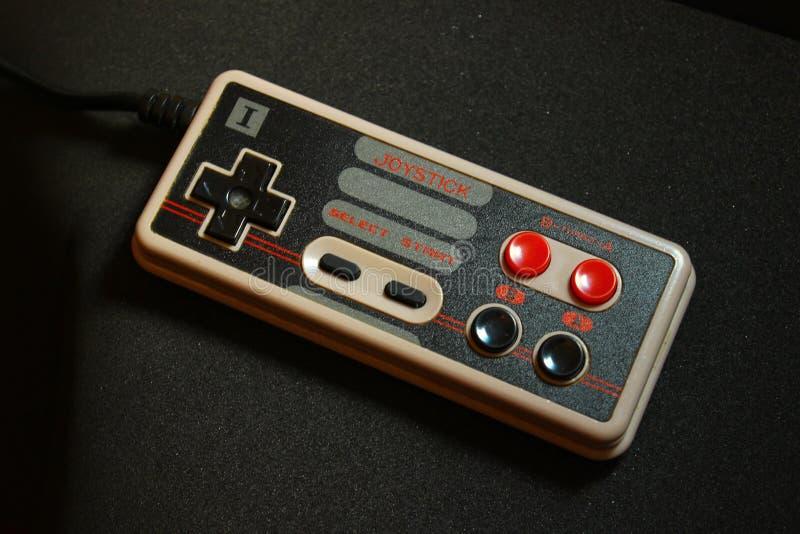 8 kawałków wideo gry joystick 2 zdjęcie stock