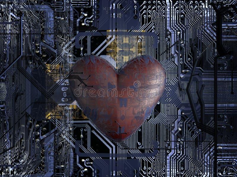 kawałka serce ilustracja wektor