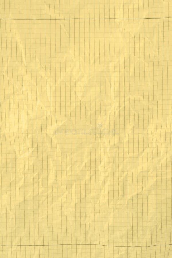 kawałki papierowego żółty zdjęcie royalty free