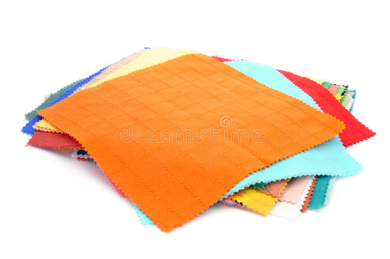 Kawałki tkanina zdjęcie royalty free