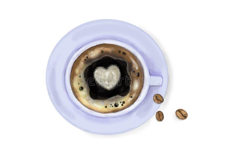 Kawa ilustracja wektor