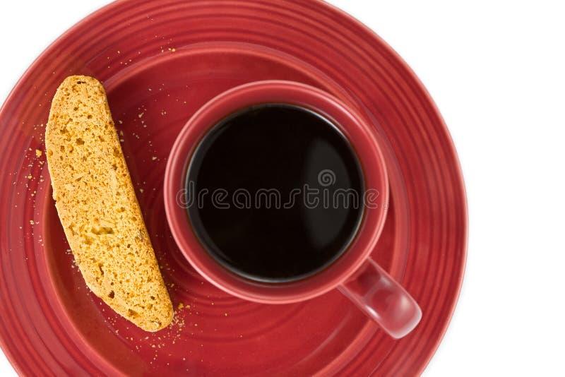 kawa biscotti zdjęcia royalty free