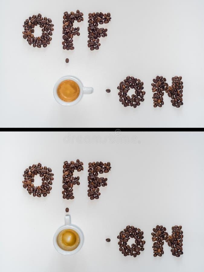 Kawa dalej daleko zdjęcie royalty free