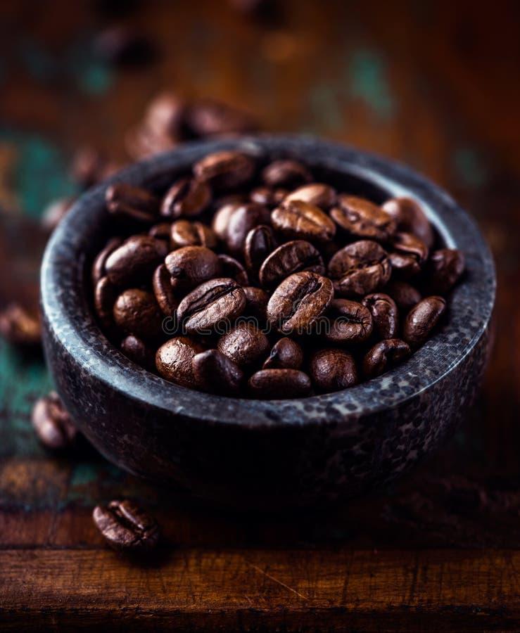 Kawa espresso Kawy Fasole zdjęcia stock