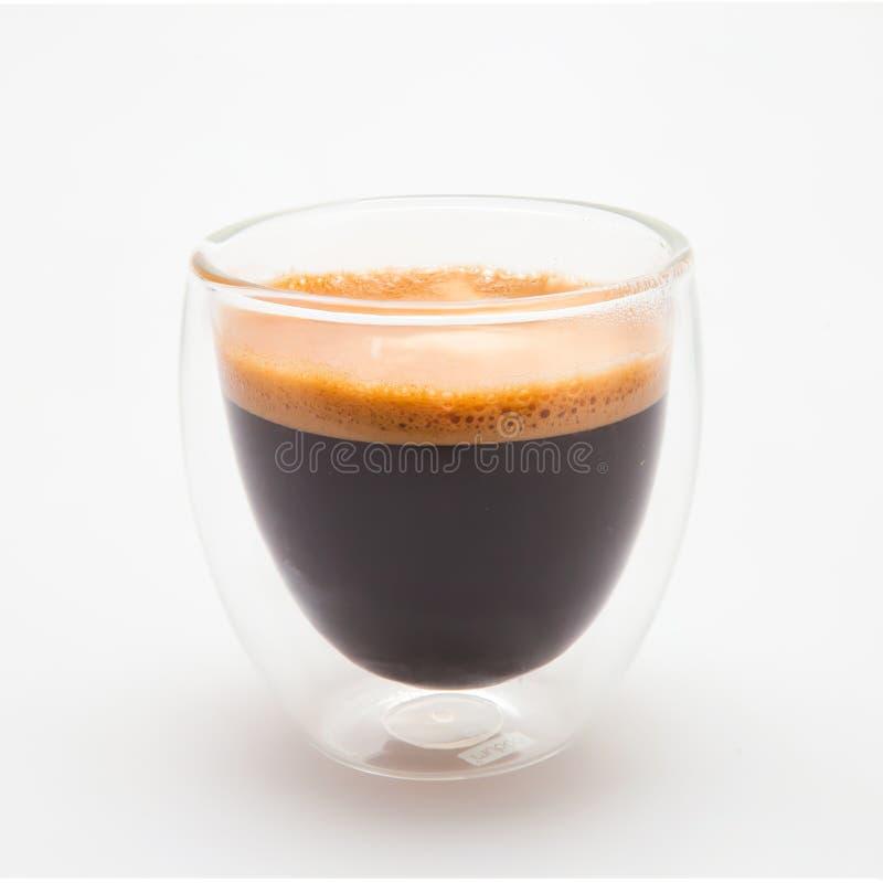 Kawa espresso strzał zdjęcie royalty free