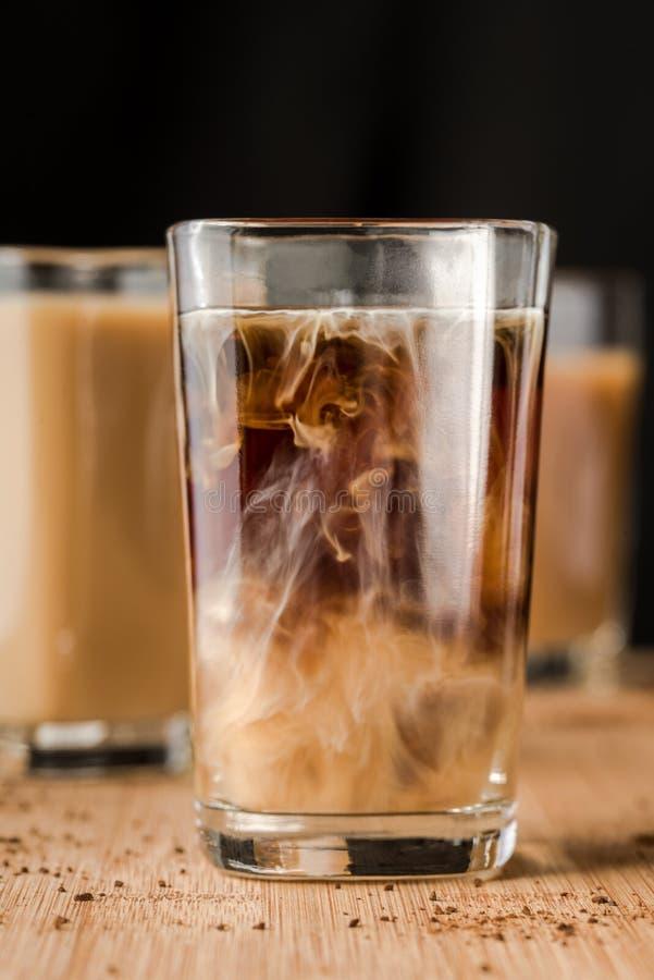 Kawa espresso strzał obraz stock