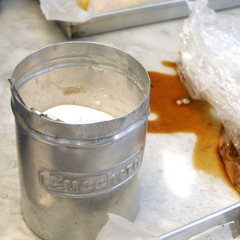 Kawa i cukier obrazy stock