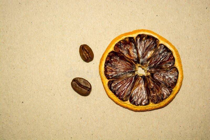 Kawa i cytryna spotyka, zdjęcie stock