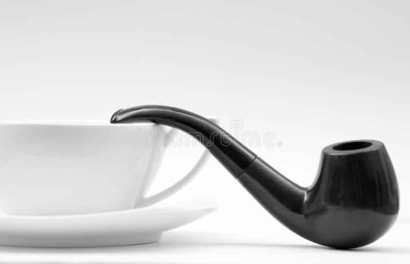 Kawa i dymienie drymba obrazy royalty free