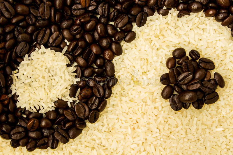 Download Kawa i Rice zdjęcie stock. Obraz złożonej z czerń, kultura - 28964812