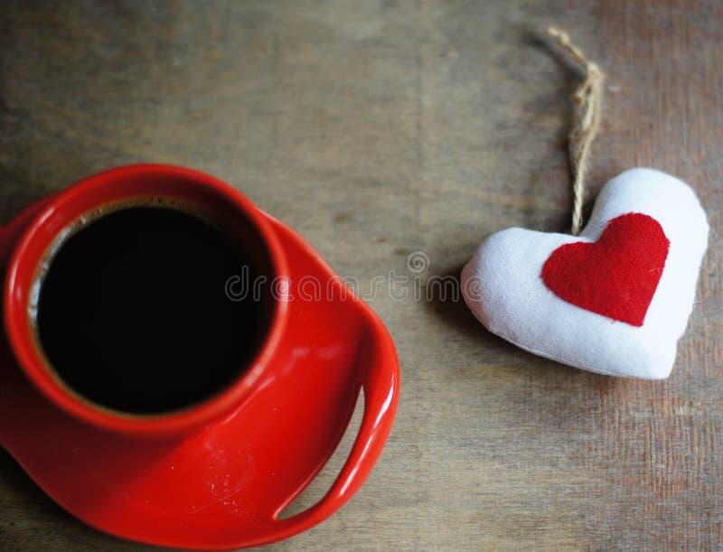 Kawa i serce zdjęcia royalty free
