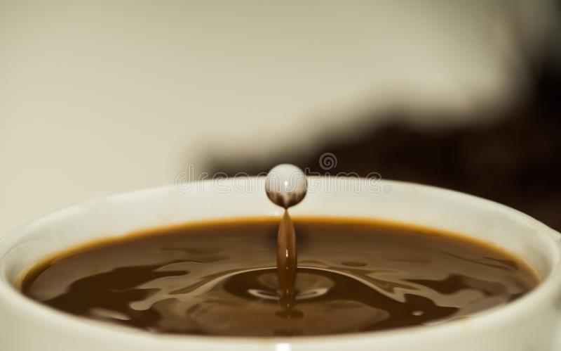 Kawa między gwiazdami zdjęcie royalty free