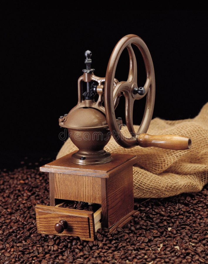 Kawa Ostrzarz Bean Obraz Stock