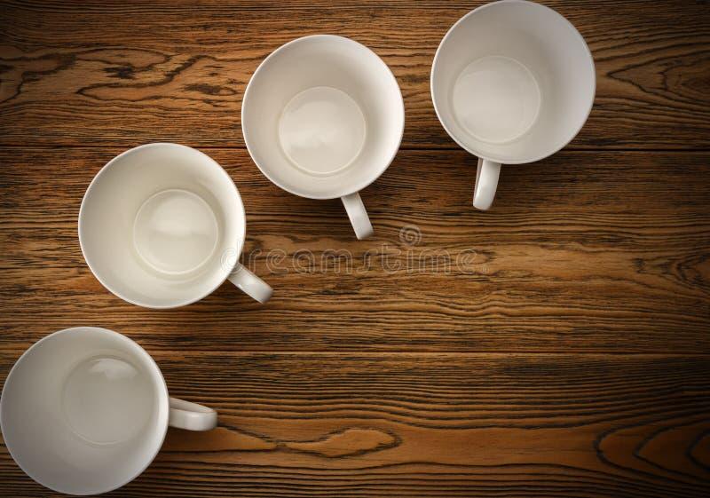 Kawa, ranku początek Szybkościomierz energia kreatywnie pomysł Gorąca kawa, odgórny widok zdjęcia stock