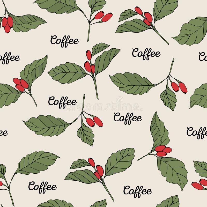 Kawa rozgałęzia się bezszwowego zdjęcia royalty free