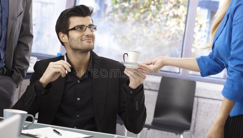 Kawa szef zdjęcia stock