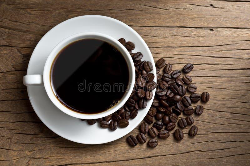 Kawa w filiżance zdjęcia stock