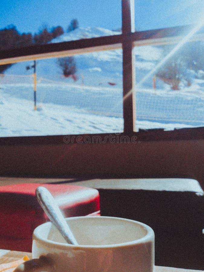 Kawa w górze zdjęcia stock