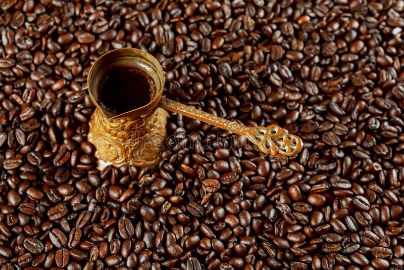 kawa w orientalnym stylowym roczniku obrazy royalty free