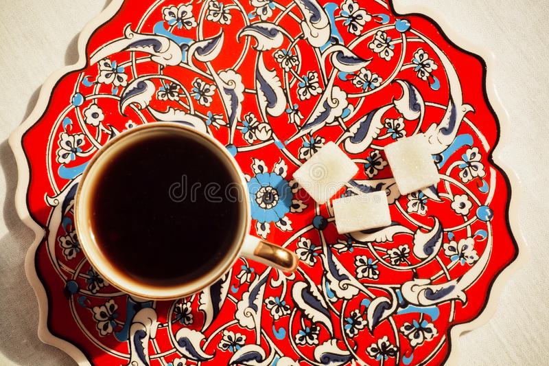 Download Kawa w Tureckim stylu obraz stock. Obraz złożonej z kawiarnia - 57650539