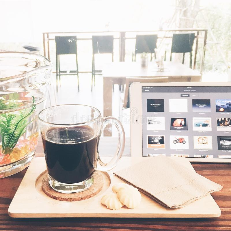 kawa więcej czasu fotografia stock