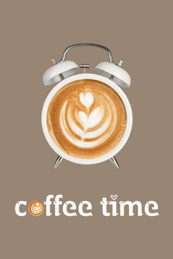 kawa więcej czasu royalty ilustracja