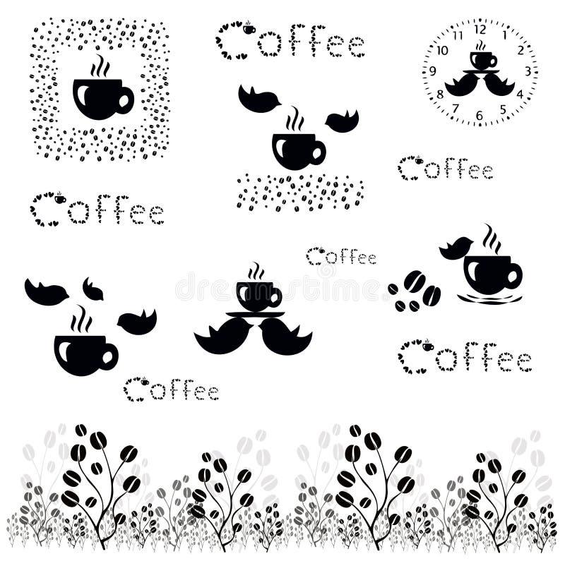 kawa więcej czasu wektorowy kawowy pojęcie ilustracji