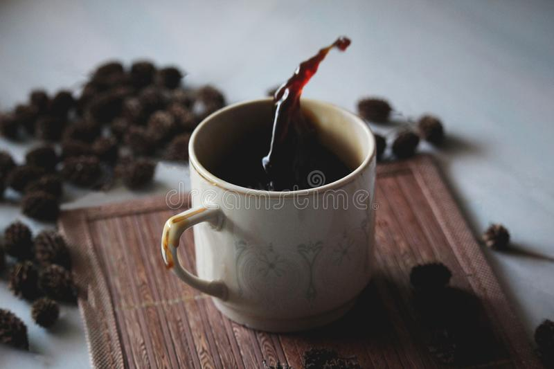 kawa wi?cej czasu obraz stock