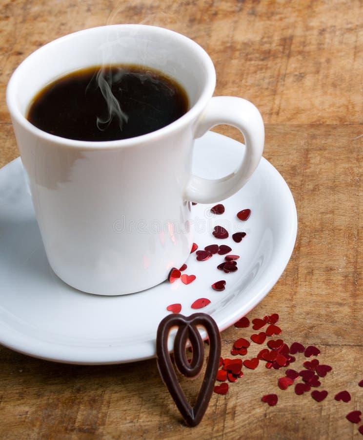 Download Kawa z miłością obraz stock. Obraz złożonej z pojęcie - 28969369