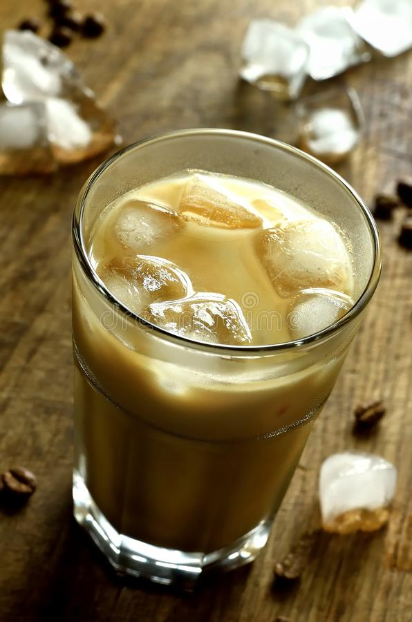 kawa zamrażająca fotografia stock